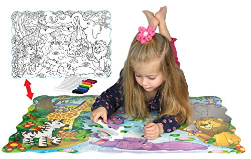 Puzzle Washable Markers Activity Toddlers product image