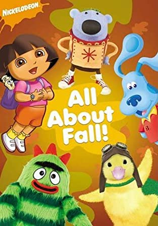 amazon com nickelodeon all about fall with free cinch sack with