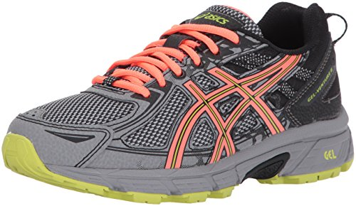 ASICS Women's Gel-Venture 6 Running-Shoes,Phantom/Coral/Lime,7.5 Medium US