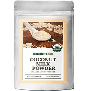 Healthworks Coconut Milk Powder Organic (Dairy Free), 1lb