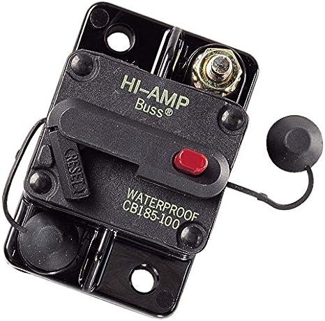 1 **NEW** 184100F Bussman DC Circuit Breaker 100 Amp Surface Mount  **Cheap**