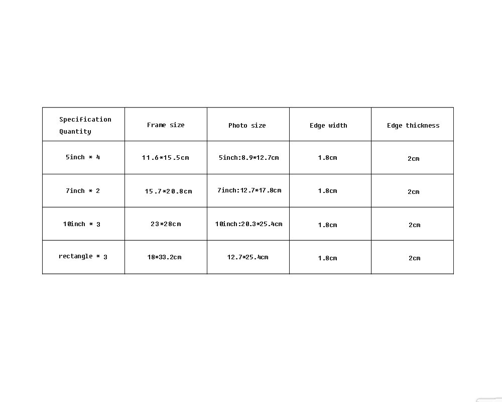 12 Conjunto de marcos m/últiples de madera Blanco y negro Foto de bricolaje Cuadro Cuadro de pared Estilo moderno Gran pared colgante Marco de fotos Decoraci/ón de paredes Pintura 155 x 64 cm Global Color : Negro