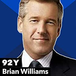 Brian Williams with Jonathan Tisch