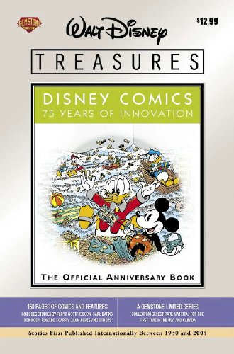 Book cover from Walt Disney Treasures - Disney Comics: 75 Years of Innovation by Floyd Gottfredson