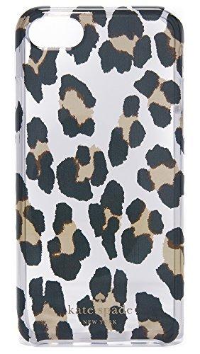 Leopard Iphone Case (Kate Spade New York Leopard Clear iPhone 7 / 8 Case, Clear Multi, iPhone 7)