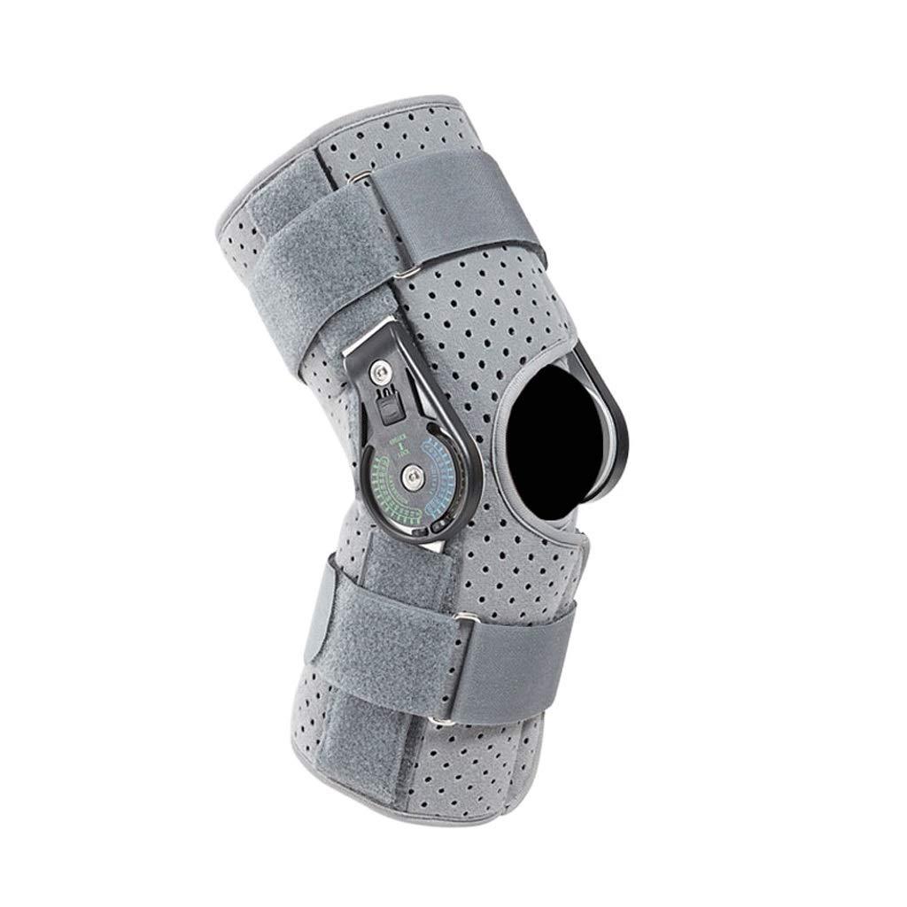 Kneepad Knee Support Adjustable Brace Bracket Ligament Fracture Protection Knee Rehabilitation Lower Limb Protector (Size : M)