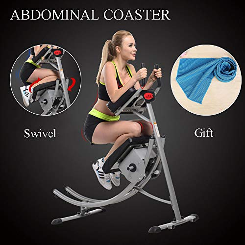 Ohana AB Coaster Max Abdominal Crunch Body Core Workout for sale  Delivered anywhere in USA