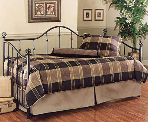 Hillsdale Chalet Metal Daybed in Black Finish - Without Trundle