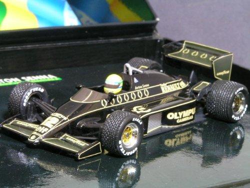1/43 ロータス ルノー 97T 1985 ポルトガルGP優勝 A.セナ OLYMPUS #12(ブラック)  「アイルトン・セナ レーシングカーコレクション」 540854392