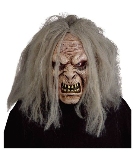 Scariest Masks (Carzy Scariest Serial Killer Old Man Masks For Halloween Costumes)
