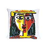 Picasso - Pillow Case - Woman with a Hat (1962)