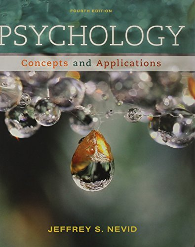 Psychology: Concepts and Applications