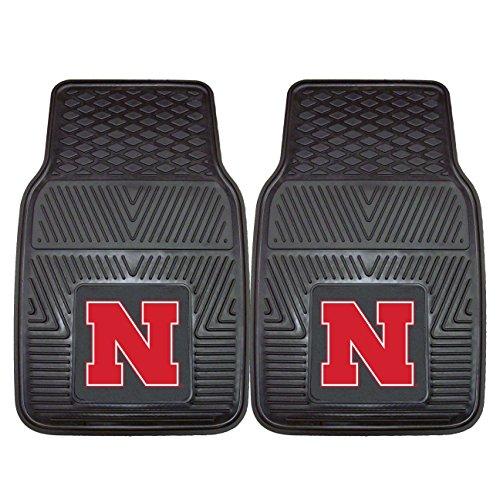 - FANMATS NCAA University of Nebraska Cornhuskers Vinyl Heavy Duty Car Mat