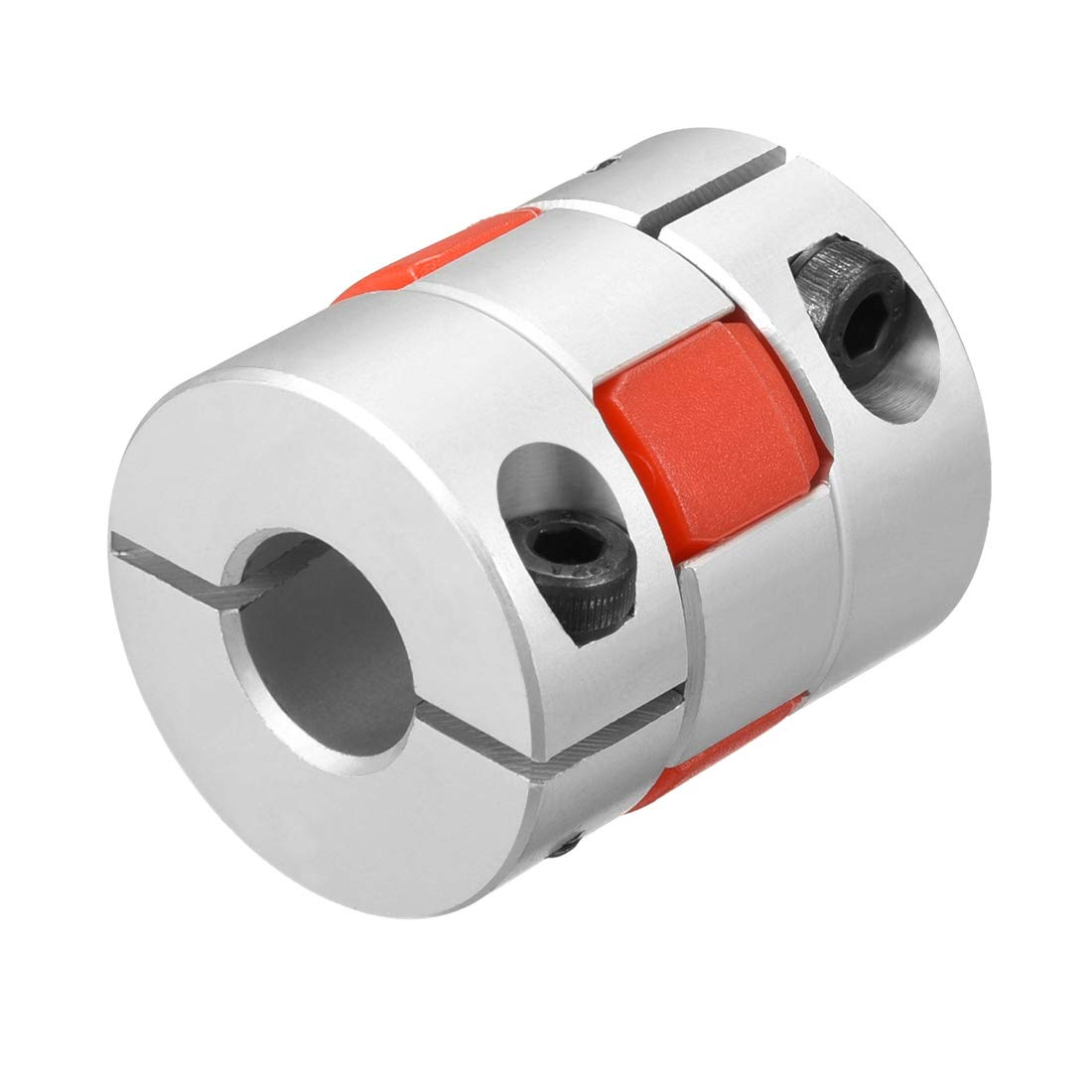 uxcell Shaft Coupling 15mm to 15mm Bore L35xD30 Flexible Coupler Joint for Servo Stepped Motor