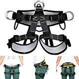 HITSAN Pro Tree Carving Fall Protection Rock Climbing Equip Gear Rappelling Harness One Piece