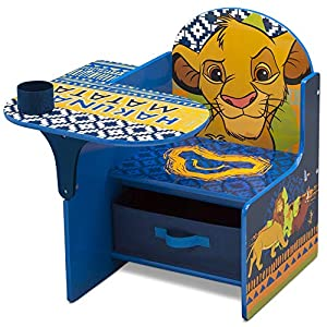 Delta Children Chair Desk with Storage Bin – Ideal for Arts & Crafts, Snack Time, Homeschooling, Homework & More, Disney…