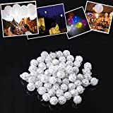 Best Typing Games For Kids - 50/100/150Pcs Led Ball Lamps Balloon Light for Paper Review