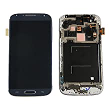 NovaMass Black LCD Display Touch Screen Digitizer full assembly With Frame for Samsung Galaxy SIV S4 I337 M919