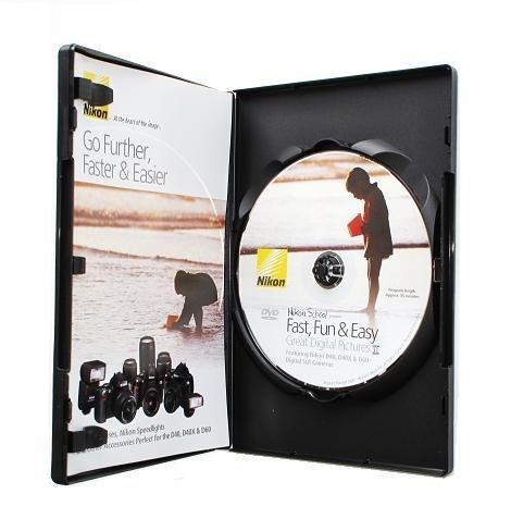 Fast Fun Easy II SLR Instructional DVD For Nikon D60 D3000 D300S D5000 D700 **DVD Only**