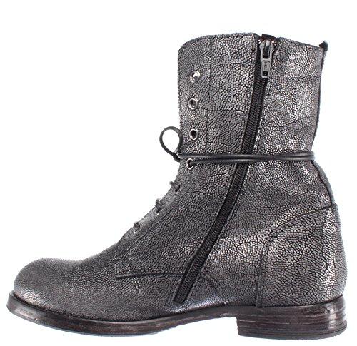 Boots It Ankle Vintage Made Grigio 88702 Donna Stivaletto Scarpe Moma Pelle r1 qw6PItwCx