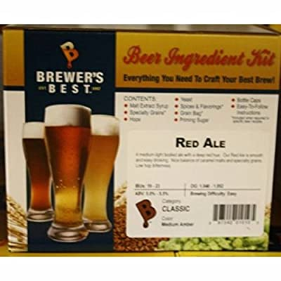 Brewer's Best BIK-1010 Red Ale Homebrew Beer Ingredient Kit