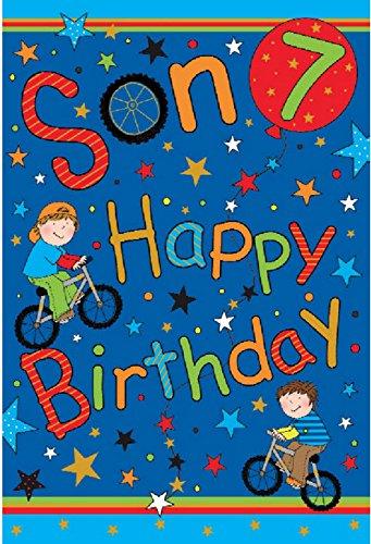 Son 7th Birthday Card Amazon Kitchen Home