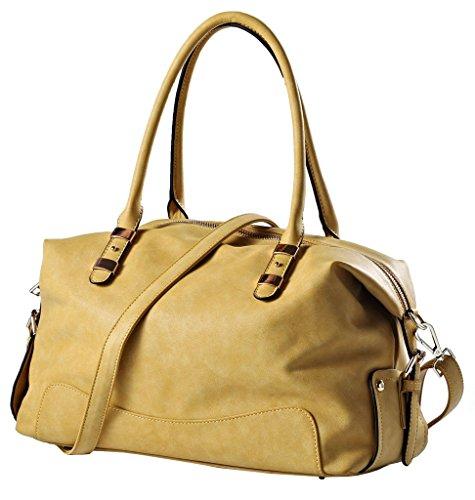 "14.5"" Women's Urban Style Genuine Leather Tote Shoulder Bag Handbag11"
