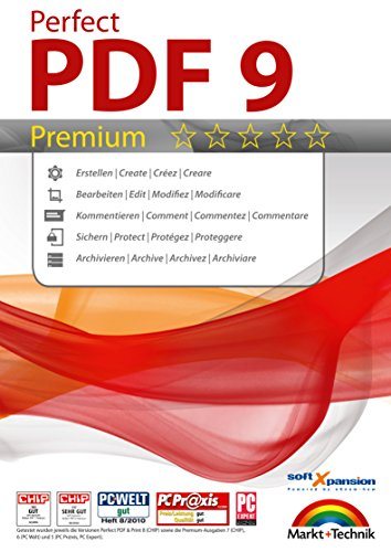 Perfect PDF 9 Premium - Create, Edit, Convert, Protect, Add Comments to, Insert Digital Signatures in PDFs with the OCR Module | 100% Compatible with Adobe Acrobat (Upgrade Windows 7 Home Basic To Professional)