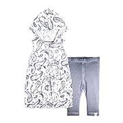 Top Pant Set, Tunic Legging Bundle, 100% Organic Cotton