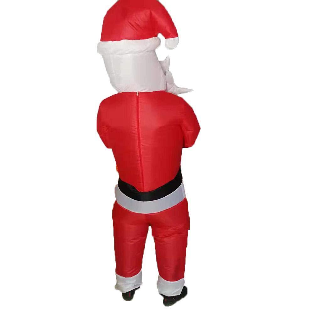 Kitabetty - Disfraz Inflable de Navidad, Papá Noel, Disfraz ...