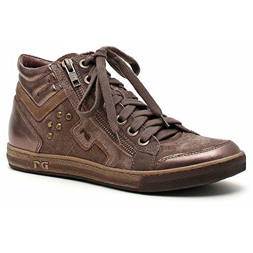 Pelle Camoscio Nero Donna Giardini Sneaker A309600D Verdegris Rq0x8