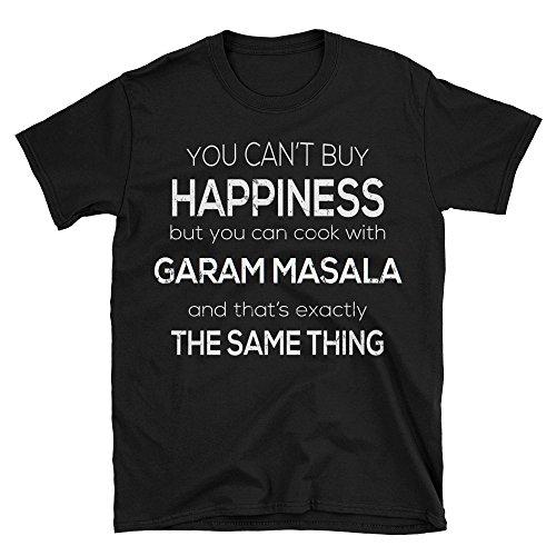 (Funny Garam Masala T-Shirt For Cooking Lovers - Black, XL)