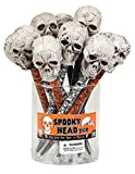 Raymond Geddes Spooky Head Pen, 12 Pack (69811)