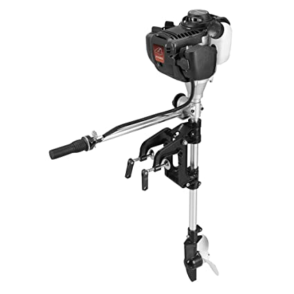 Sky  4hp Superior Engine Outboard Motor Inflatable Fishing Boat Motorblack