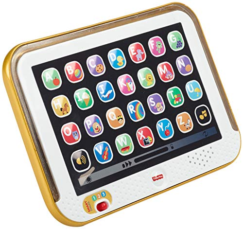 Fisher-Price Laugh & Learn Smart Stages Tablet, Gold