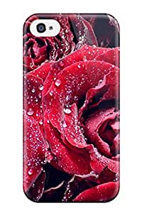 Dsorothymkuz LTYcpMG469yhacJ Protective Case For Iphone 4/4s(red Roses Water)