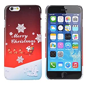 6/6s - Christmas Case Jt What Kind Mother Snowman Year - Christmas Gift Sweet Christmas Pattern Back Case Cover For 6 - Jt What Kind Of Mother Are You - 1PCs