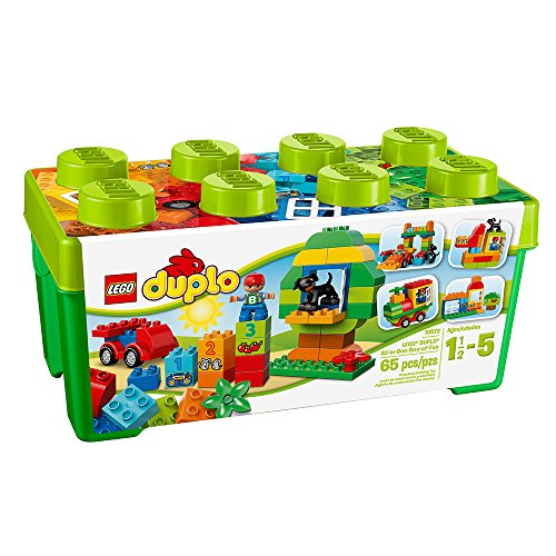 LEGO DUPLO All-in-One-Box-of-Fun 10572 Creative Play and Educational (Halloween Group Ideas For 4)
