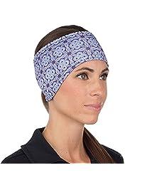 TrailHeads Women's Print Ponytail Headband - 12 colors