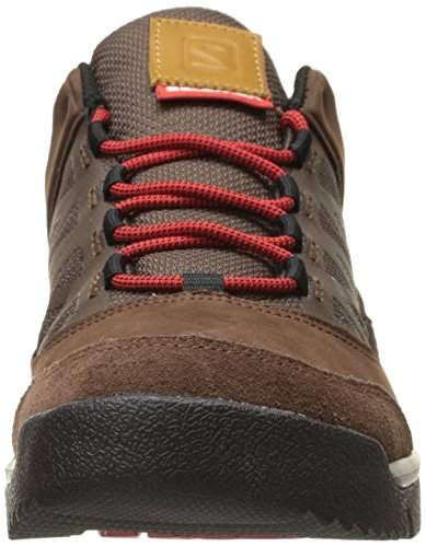 Salomon Instinct Travel dark brown leather/absolute brown-x/quick
