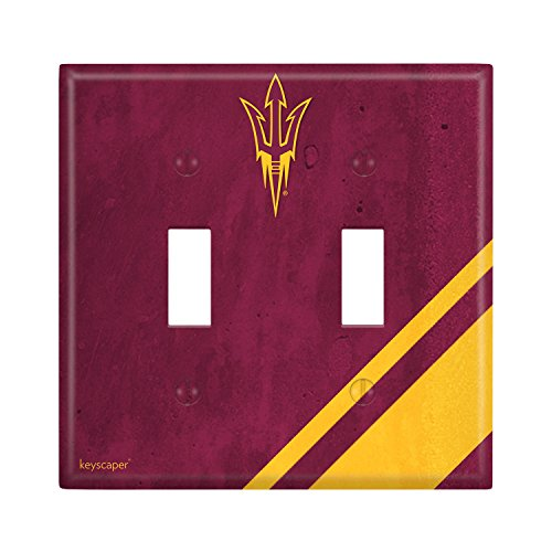Arizona State Sun Devils Double Toggle Light Switch Cover NCAA