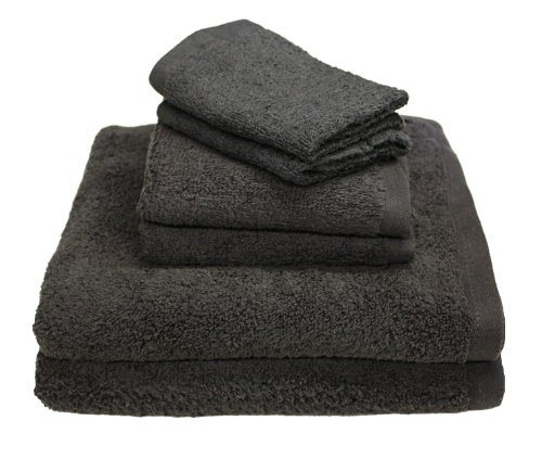 """Luxury 6 Piece Cotton Bath Towel Set; 2 Bath Towels 27 x 52"""""""