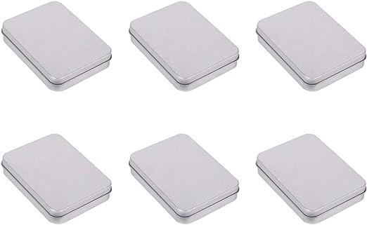 UPKOCH 12 Piezas Latas Pequeñas Caja Pequeña de Metal Contenedores para Dulces Regalos: Amazon.es: Hogar