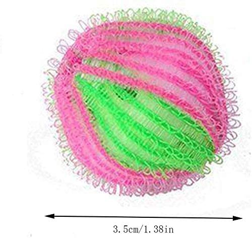 NAOAO 12 PCS Boule de Lavage Anti-Poil Anti-Peluche R/éutilisable pour Machine /à Laver s/èche-Linge Balles pour Lave-Linge Boules R/éutilisables de Lavage pour Nettoyage des v/êtements