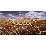 Offering Envelope Wheat Field: Cosecha de Trigo Sobres (Cuatro Colores), 4 Color
