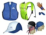 The Ultimate Summer Cooling Kit - GET ALL 7 PIECES - BLUE - 2X