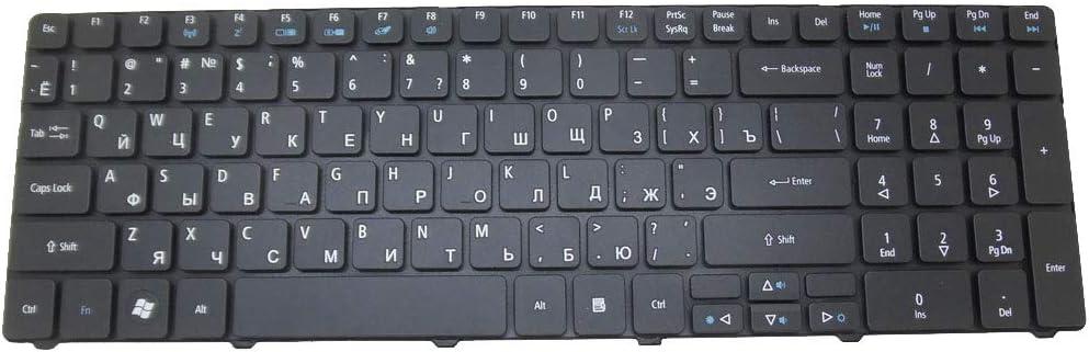 Laptop Keyboard for Acer Aspire 7740 7740G 7741 7741G 7741Z 7741ZG 7745 7745G 7745Z 7750Z 8940G 5742 5742G 5742Z 5742ZG Russian RU Black