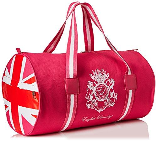 Union Jack Bags - English Laundry Union Jack Women's Duffle Bag, Hot Pink, 0.5 lb.