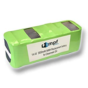 MPF Products 3500mAh NS280D67C00RT Battery Replacement Compatible with Infinuvo CleanMate 365 QQ-1, QQ2 Basic, QQ-2L, QQ2 LT, QQ2 Plus and QQ 200 Series Robotic Vacuum Cleaners