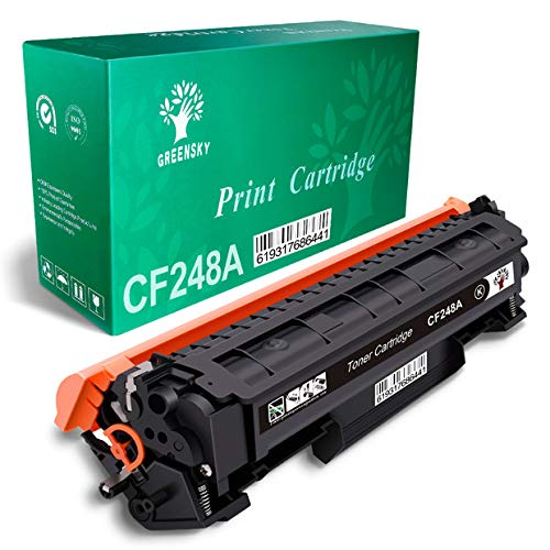 GREENSKY Compatible Toner Cartridge Replacement for HP 48A CF248A for HP Laserjet Pro M15w M15a M16a M16w MFP M29w MFP M29a MFP M28w MFP M28a Printer (Black, 1-Pack) ()